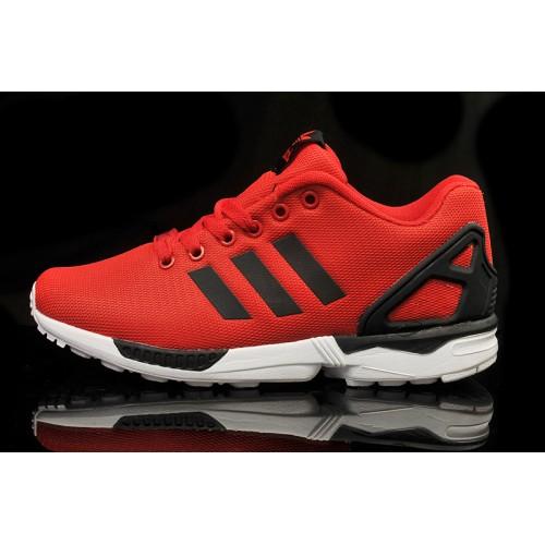 basket adidas zx flux homme rouge