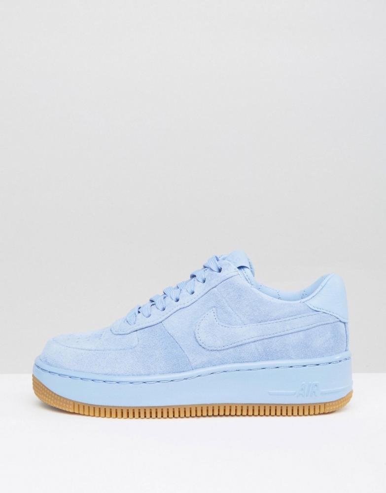 air force one blanche et bleu femme