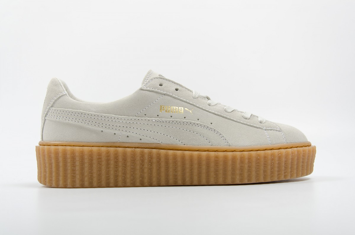 Réduction authentique puma suede plateforme pas cher Baskets